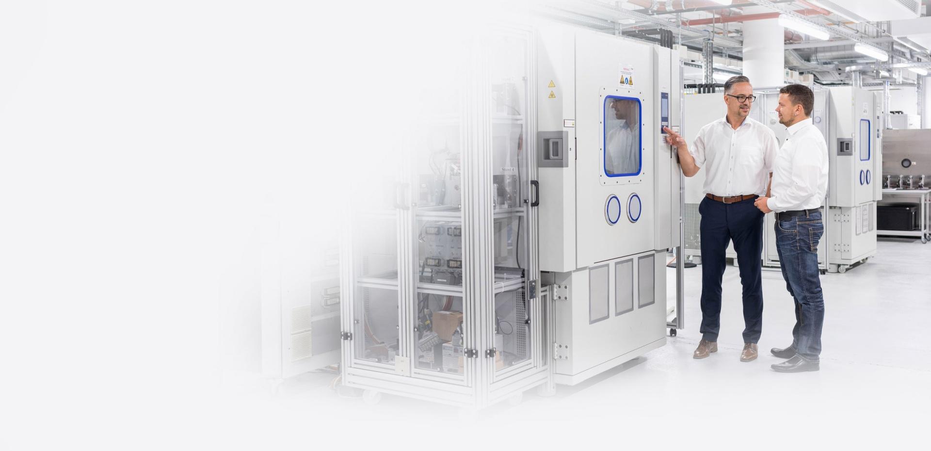 Brose Elektronik Kühlkammer