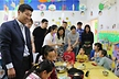 <p>Yin Shixian (left, General Manager Brose Changchun Plant) together with plant representatives paid a visit to the local Child welfare home.</p>