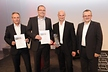<p>In photo (from right): Reinhard Meschkat (Executive Vice-President Production, right) with the winners of this year's Brose Productivity Awards: Stefan Krug (General Manager Brose Coburg), Matthias Drewniok (General Manager Brose Hallstadt) and Harald Roeck (General Manager Puebla)</p>