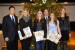 <p>Best trainees of the year 2011: From left to right: Jürgen Otto (CEO of the Brose Group), Carina Leffer, Tina Hämmerlein, shareholder Maximilian Stoschek, Luisa Kaiser and Esther Loidl (Vice-President Human Resources Brose Group).</p>