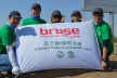 "<p>Brose employees actively involved in building the ""Brose forest"".</p>"