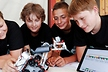 "<p>Students learn a variety of things during the event days – like how robots ""see, hear and feel"" using sensors.</p>"