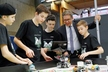 <p>The Robo Pinguins from Hermann-Staudinger-Gymnasium in Erlenbach showed Michael Stammberger, Head of Apprenticeship and Training at Brose, (second from right) what their robot can do. </p>