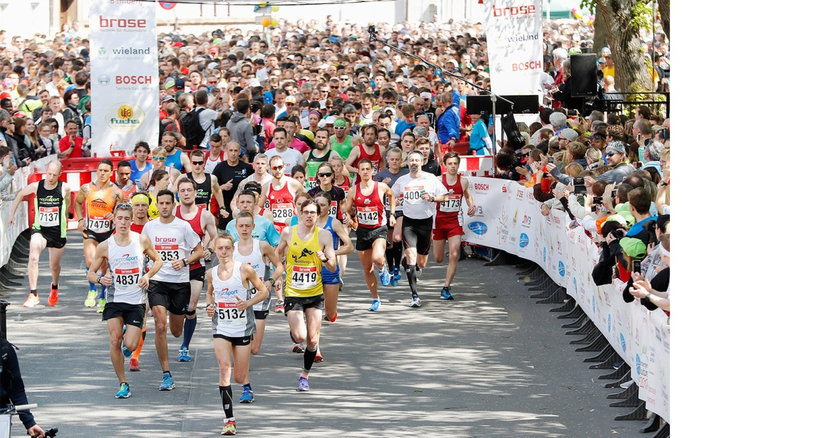 World Cultural Heritage Run: Brose boasts the largest number